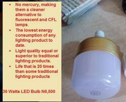 Energy saving Bulb 36 Watt. for Hall, Factory, Open Space, Compound