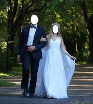 b423a106e2 Suknia ślubna w stylu greckim