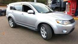 trade in ok..mitsubishi outlander..4wd..7seater..