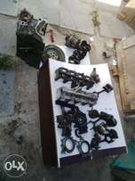 honda ballade d15b engine parts