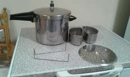 Stainless steel high pot