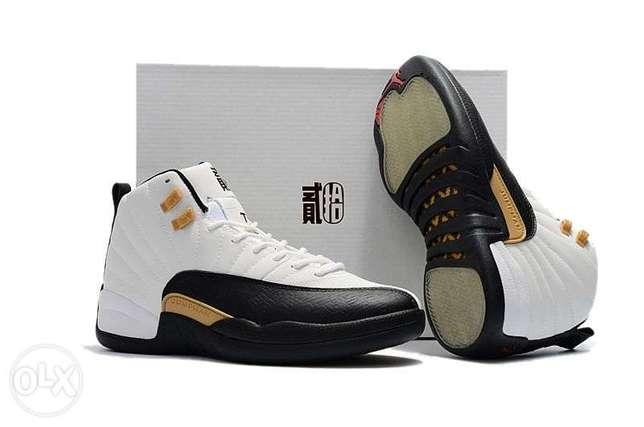 Air Jordan 12 Retro CNY - White/Black Surulere - image 3