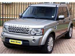 2011 LAND ROVER Discovery 4 5.0 V8 hse
