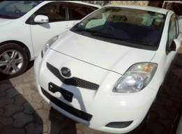 Pearl white New import Just arrived Toyota Vitz 2010 model
