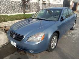 Registered Nissan Altima (2002)