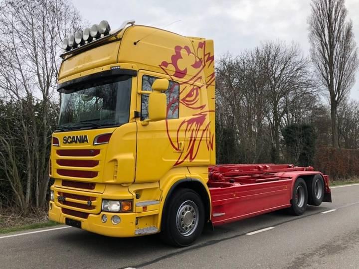 Scania R560 v8 6x2 nch kabelsysteem - 2012