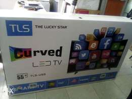 TLS curved digital TV 55 inch