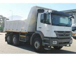 MERCEDES-BENZ AXOR 2628B/33 With 10 Cube Tipper Body for sale