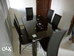 Imported Exotic 6 seater Dining Table/Chair