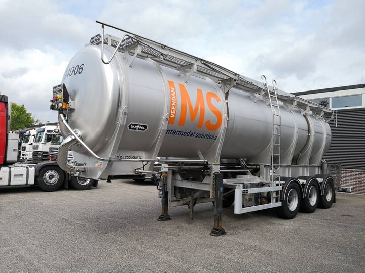 Van Hool 3D0011 3as BPW - 26000L RVS Food Tank - Incl Pumps and Po... - 2010