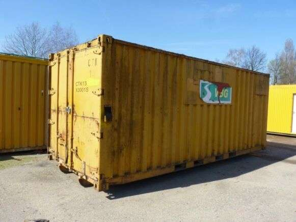 Sale Container Closed 38 M³ To Be Reconditioned 20 Feet Container
