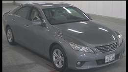 Toyota Mark X Very Low Milage genuine with QISJ certificate