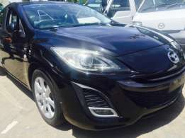 Metallic black Sport New Shape mazda Axela on sale Nairobi CBD - image 1