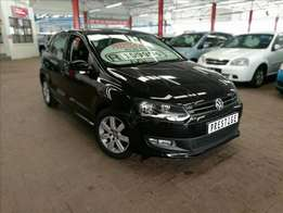 2011 Black Volkswagen Polo 1.6 Comfortline ONLY 83000kms