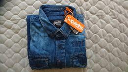 3cfe5a2a643d08 Koszula jeansowa męska Superdry M nowa 50% taniej