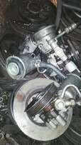 Hydraulic pumps for 4s and 3s engines