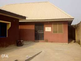 A room and a parlour self contain to let at New Felele Ibadan