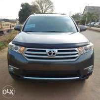 Foreign Used 2013 Toyota Highlander V6 Limited In Excellent Conditio