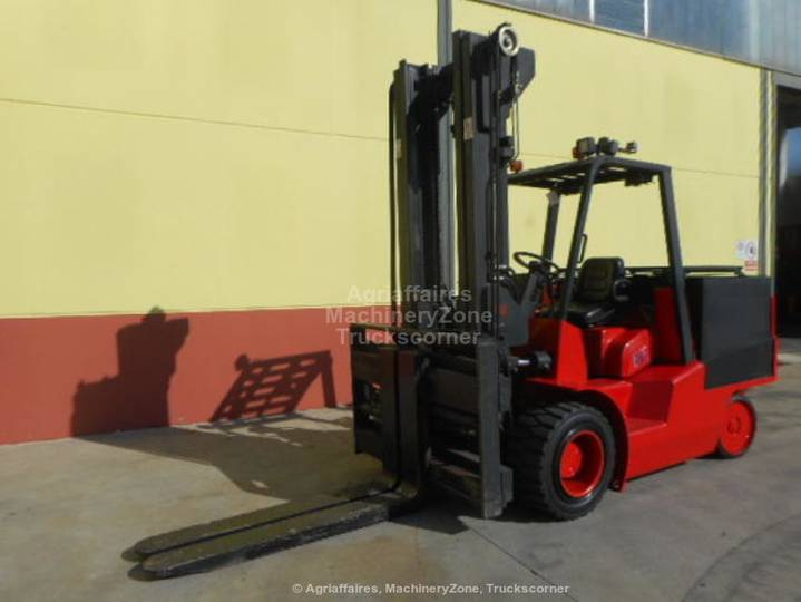 Parker elwell  e10 container handler - 2001