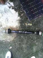 Vw polo 6 1.4 complete left side drive shaft for sale...
