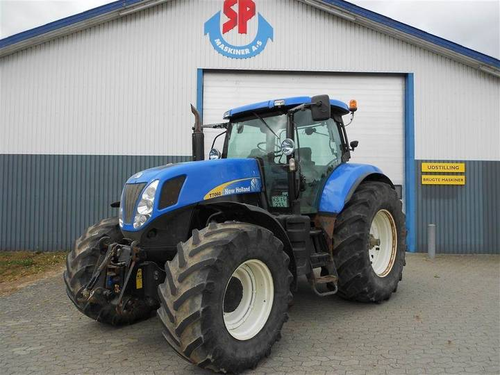 New Holland T7060 Ss Frontlift - 2008
