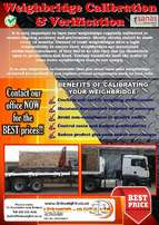 BEST prices on servicing of Weighbridges!