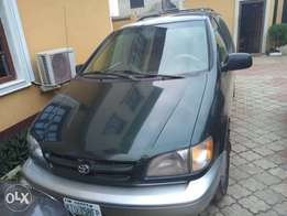 A Toyota sienna is up for sale