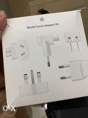 Apple World Travel Kit (Never Used)