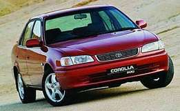Toyota Corolla wanted