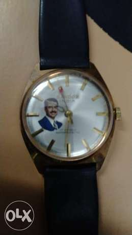 Sandoz india Authentic men's watch with Saddam Hussein picture