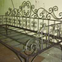 Wrought iron daybed
