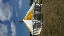 BARGAIN!!! 1 pole marquees for hire for park rynie beach.