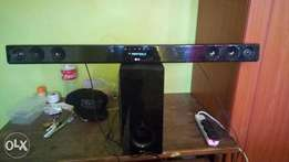 Wireless LG Sound bar (clean)