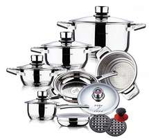 Swiss Hufeisen 16-Piece Cookware Set for R1 299 Including Delivery