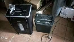 parrot and rexel shredders for sale