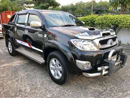 Toyota Hilux Double Cab 4WD, Automatic Transmission, New Arrival