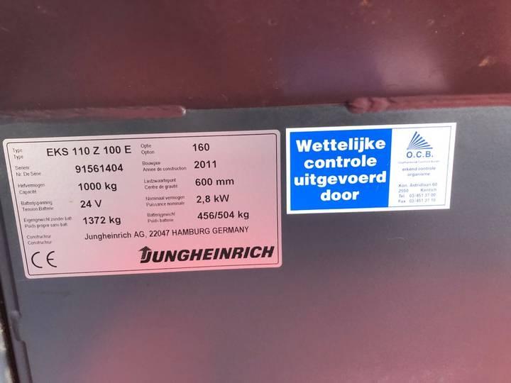 Jungheinrich EKS 110 L 100 E Pallettruck - image 20