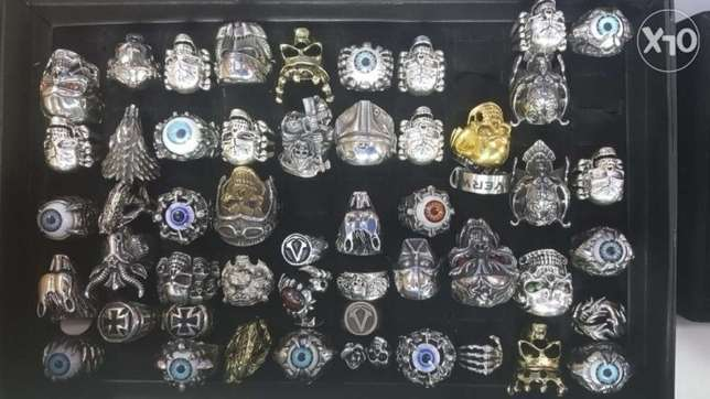 Stainless steel high quality rings for men
