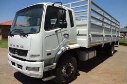 2011 Fuso FM16-270 with Cattle Body Truck