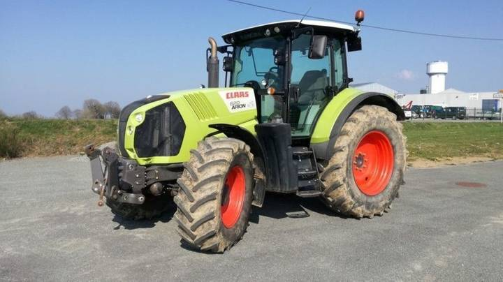 Claas tracteur arion 620 cis confort - 2014