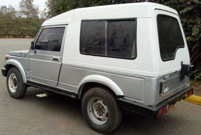 Maruti Gypsy King.Manual EFI. Perfect cargo vehicle. Rear Leaf Spring Karen - image 2