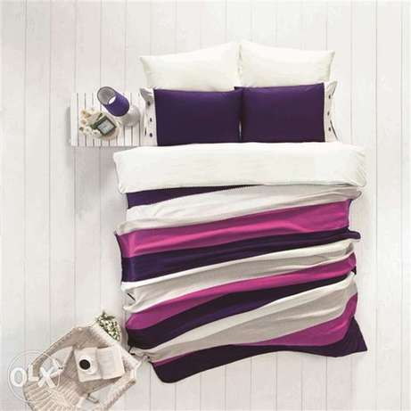 special winter set 7 pcs high quality quilt cover set and wool blanket