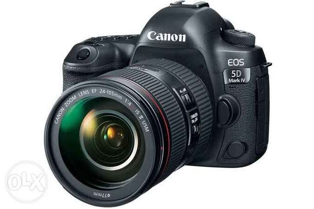 Brand New Canon 5D Mark IV + 24_105 IS II