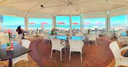 family restaurant at prime Beach Front location for Sale