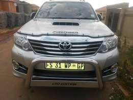 2014 Toyota Fortuner 3.0D-4D 7-Seater Auto for sale
