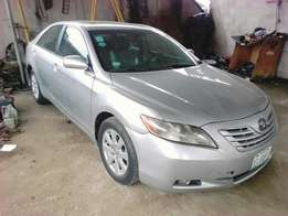 A Toyota camry key less V6 leather interior