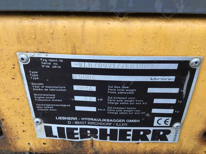 Liebherr R900C - 2004 - image 22