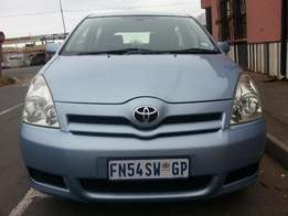 Here 2008 Toyota Verso 1.6 SX, In Good Condition,full House