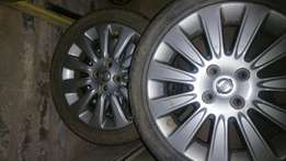 "16"" nissan original mags for sale"