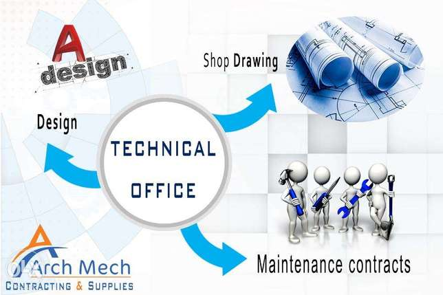 Technical Office Shop Drawing Design MEP Mechanic and Electric